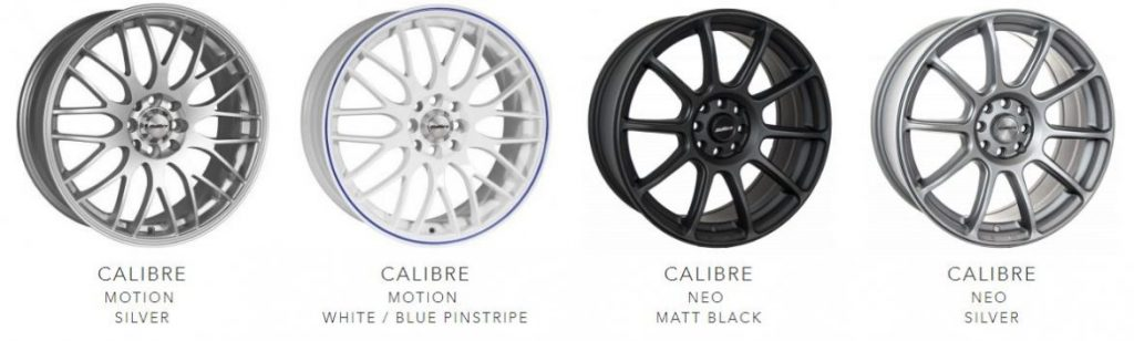 Calibre wheels 3